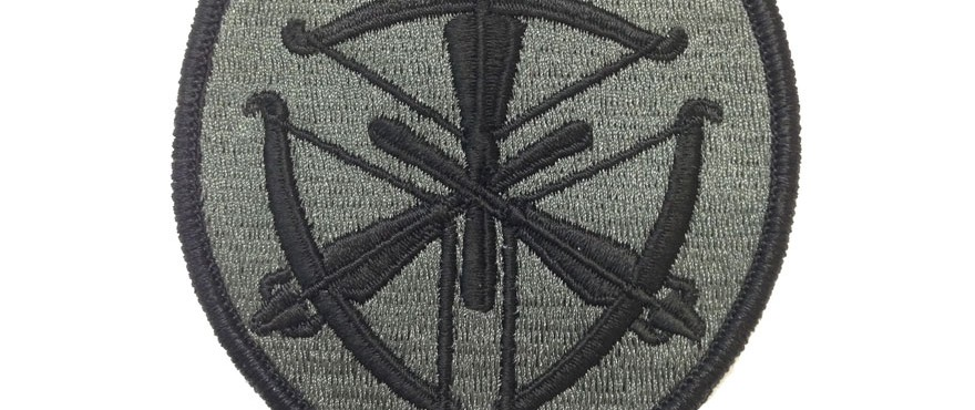 Us Army Marksmanship Unit Action Embroidery